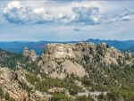 Panorama of Mount Rushmore
