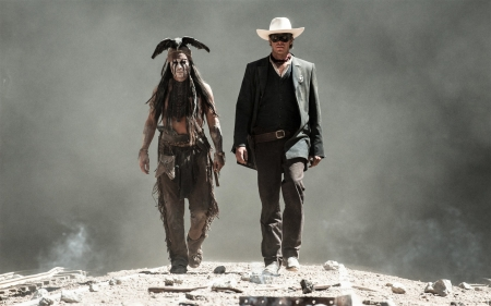 Lone Ranger - Armie Hammer, cowboy, movie, Johnny Depp