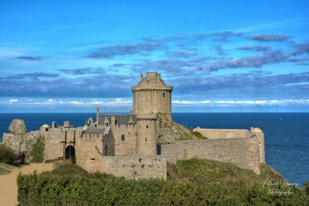 Fort la Latte, Brittany, France - medieval, france, fort, castle