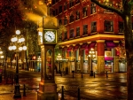 Vancouver - Gastown - The Steam Clock