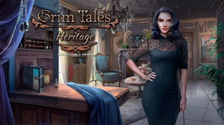 Grim Tales 19 - Heritage02 - video games, cool, puzzle, hidden object, fun
