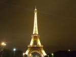 Eiffell Tower @ Night, Paris, France