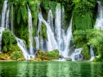 Waterfall in Bosnia and Herzegovina