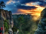 Elbe Sandstone Mountains, Czech Republic