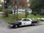 1966 chrysler new yorker police car