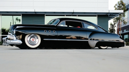 1949 Customized Buick ~ How Low can u go - cars, 1949, lowrider, buick