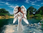 Angel of the river
