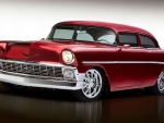 Radicalizing a 1956 Chevy With a 725-hp Blown LS