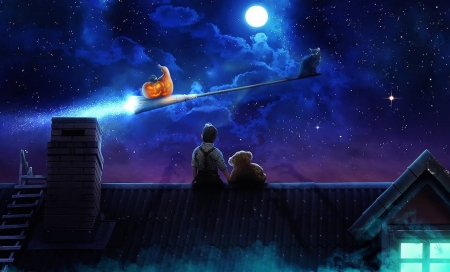 Flight of The Pumpkin
