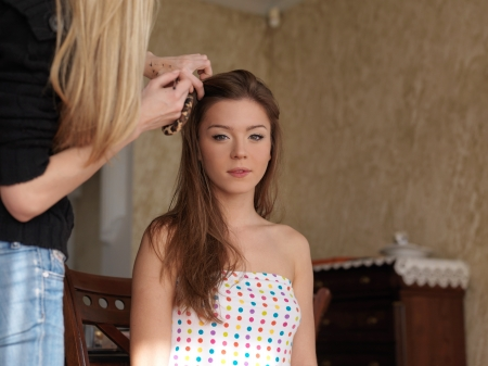 Makeup Sesh - cute, brunette, Lily Chey, model
