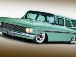 454 Big-Block 1959 Chevy 2-Door Wagon