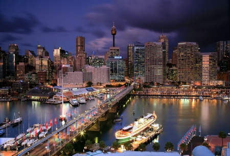 darling harbour - australia, darling, sydney, harbour