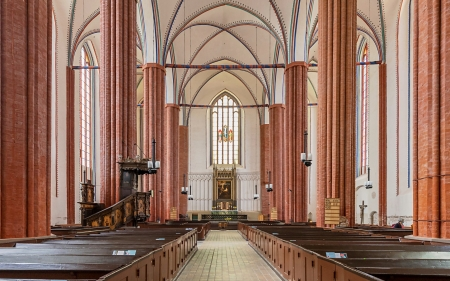 Church in Germany - inside, interior, Germany, church, Christianity