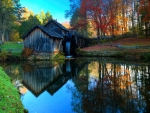 Watermill at the Blue Ridge Parkway, North Carolina
