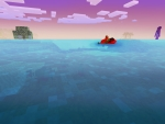 Big Blue Sea in Realmcraft Free Minecraft Style Game