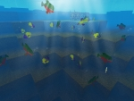 Beauty of Underwater World in RealmCraft Free Minecraft StyleGame