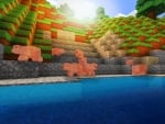 Isle of Pigs - Animal Mobs in RealmCraft Free Minecraft Clone