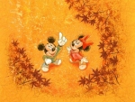 Celebrate Autumn with Mickey and Minnie