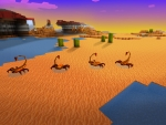 Desert Full of Scorpions in Realmcraft Free Minecraft StyleGame
