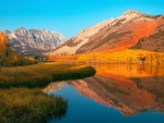 Early morning at North Lake, Bishop, California