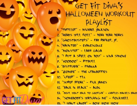 :) - music, halloween, balloon, song, orange, list, soundtrack