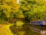 Staffordshire and Worcestershire Canals in Kinver and Kinver
