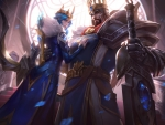 Queen Ashe and king Tryndamere