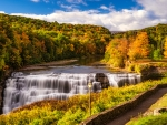 Letchworth State Park in the Autumn