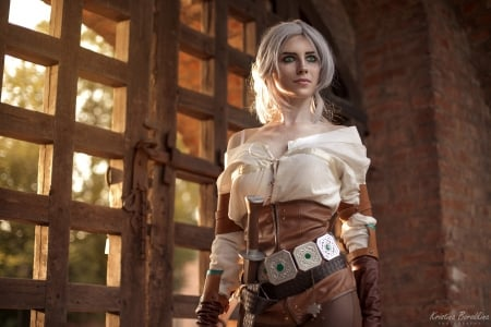 Ciri ~ Cosplay - kristina borodkina, ciri, model, the witcher, cosplay