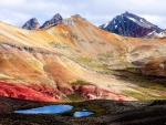 The Colorful Nevado Anticona, Peru