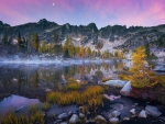 A calm morning in the Washington Backcountry - The Enchantments