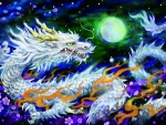 Shining White Dragon