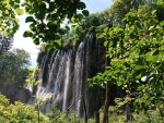 Waterfall by the Plitvice lakes, Croatia
