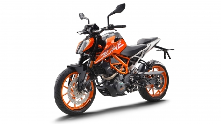 KTM 390 Duke - motorcycles, KTM 390 Duke, white background, vehicles