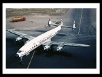 TWA Super Constellation Taxiing To Runway