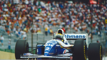 ayrton senna - renault, senna, ayrton, williams