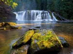 Waterfall in Washington, USA