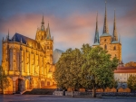 Churches in Erfurt, Germany