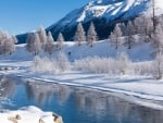 Starting Winter in the Engadin, Switzerland
