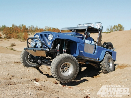 Jeep CJ8 1980 - thrill, 4x4, offroad, crawler