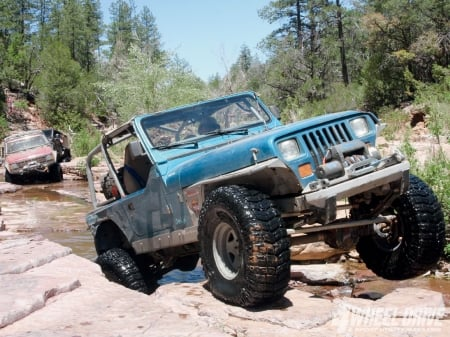 Jeep Wrangler YJ 1993 - thrill, 4x4, offroad, ride