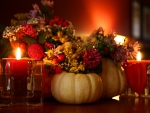 Autumn Beauty by Candlelight