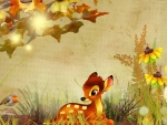 Fall with Bambi