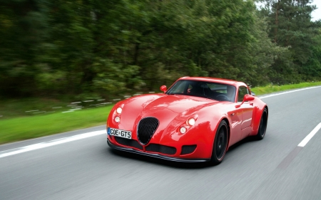 2011 Wiesmann GT MF5 - red, wiesmann, 2011, car