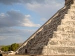 Equinox at Chichen itza Pyramid, Mexico