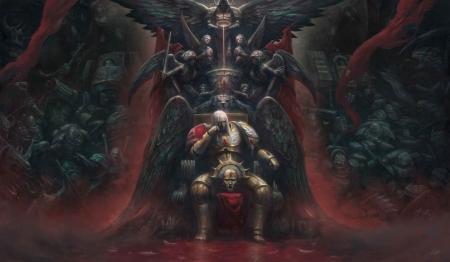 Dante ~ The Angels Inferno - dante, fantasy, throne, dark, l j koh, man, ljkoh, inferno, art, angel