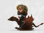Tyrion and his rockin' dragon