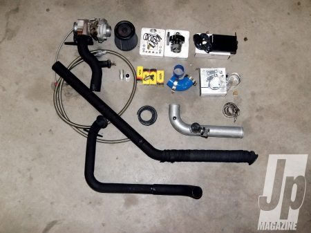 505 Performance Jeep 2.5L 4 Cylinder Turbo System
