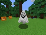 Spooky time! Creepy Ghost Mob in Realmcraft Free Minecraft StyleGame