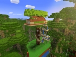 Pretty Tree House: What to Build in Realmcraft Free Minecraft Style Game